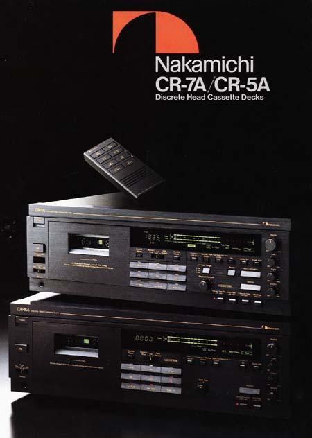 nakamichi cr 7a cassette deck rh theaudioarchive com Nakamichi Speakers Nakamichi Earphone