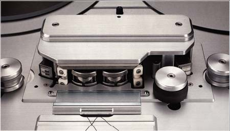STUDER A820 headblock assembly with timecode (TC)